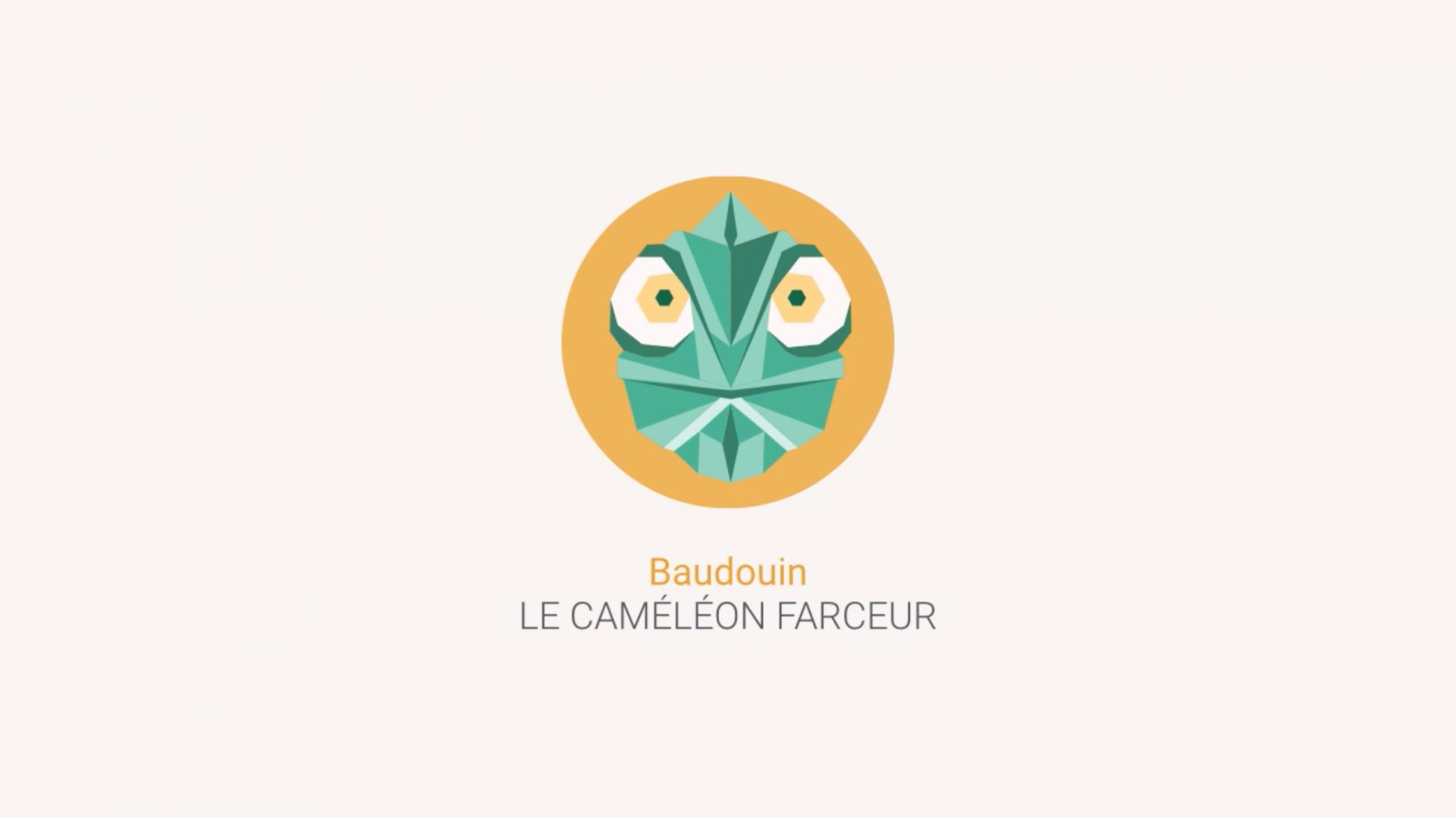 totem équipe i-logics Baudouin