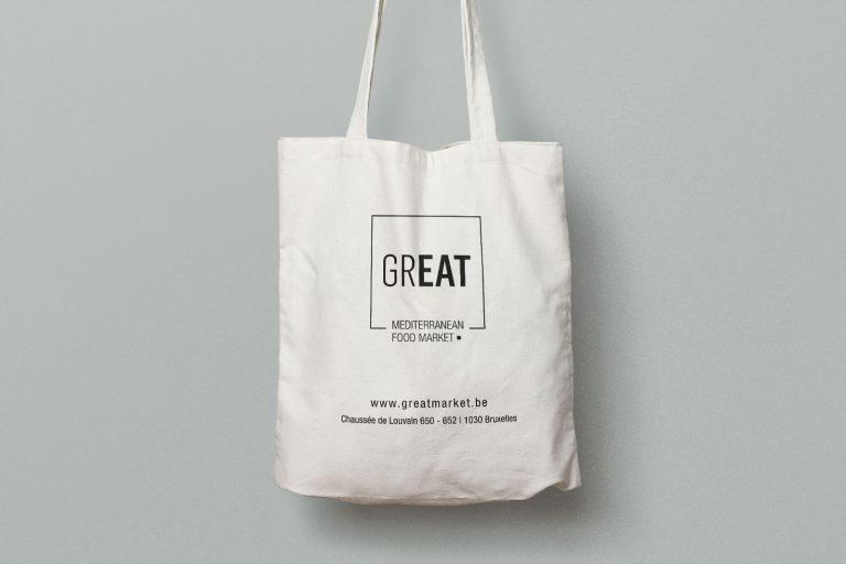 tote bag GREAT