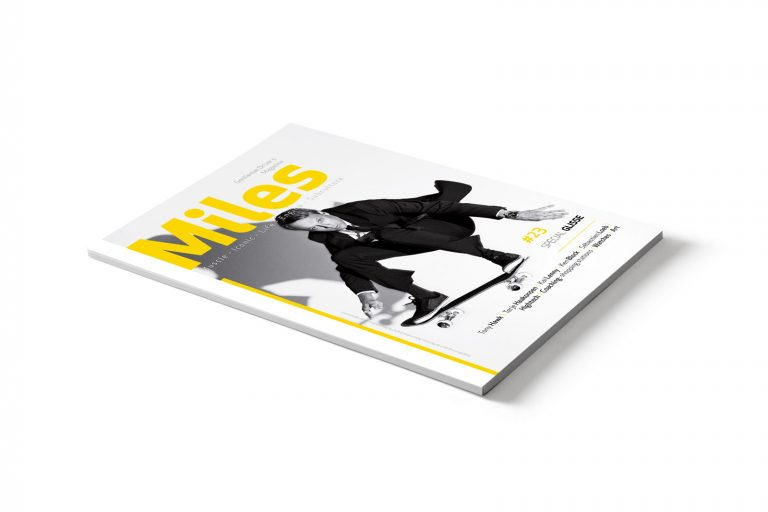 Miles cover magazine #23