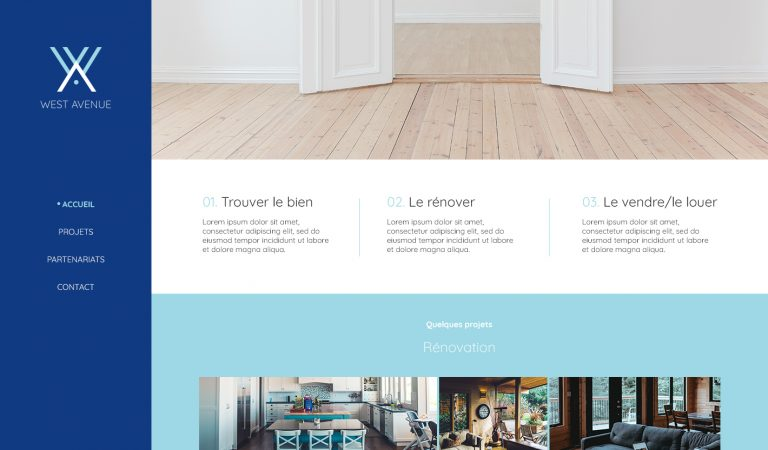 West Avenue web design